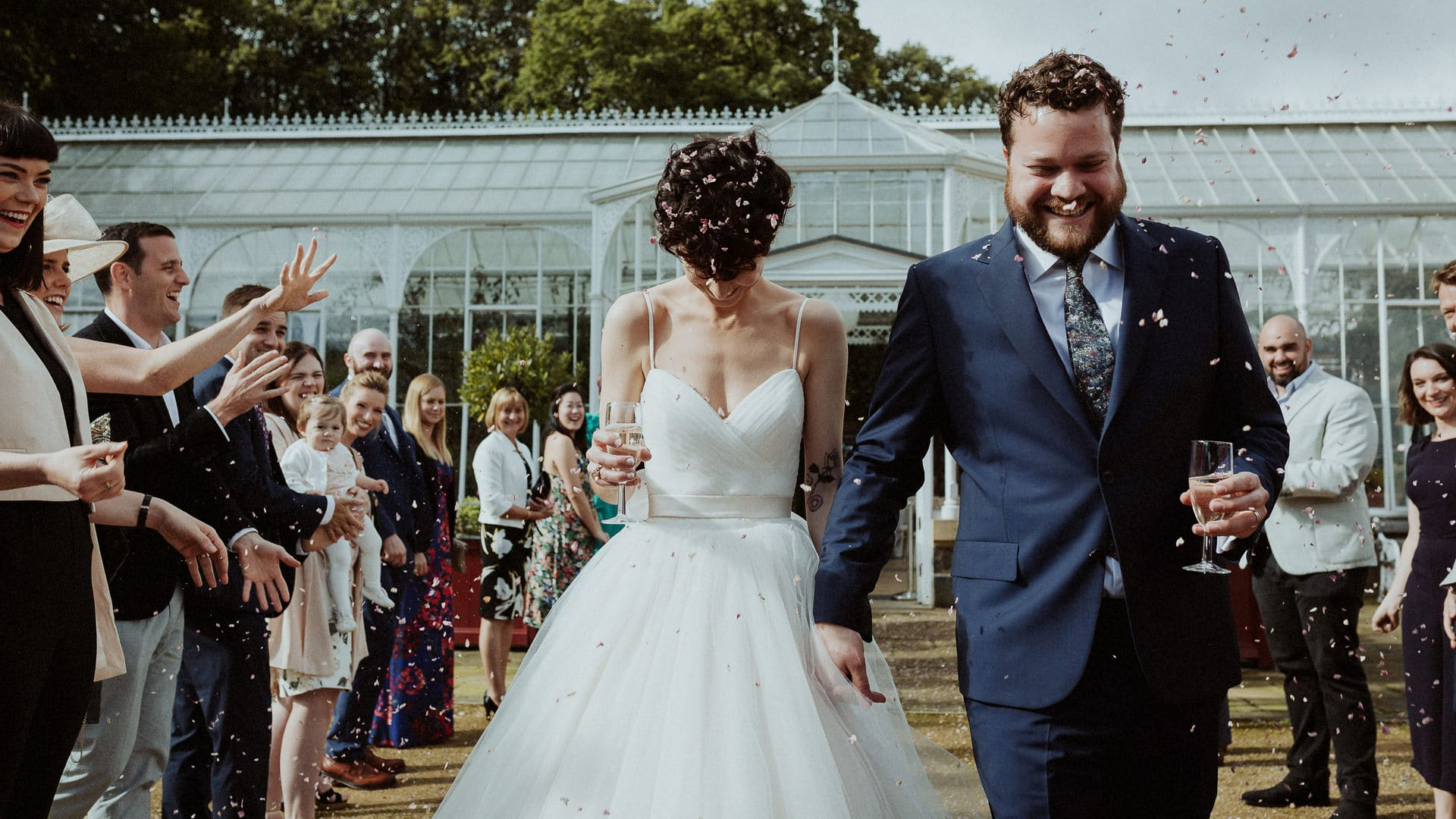 Manchester Wedding Photographer Feminist Wedding Wentworth Castle Gardens 0067