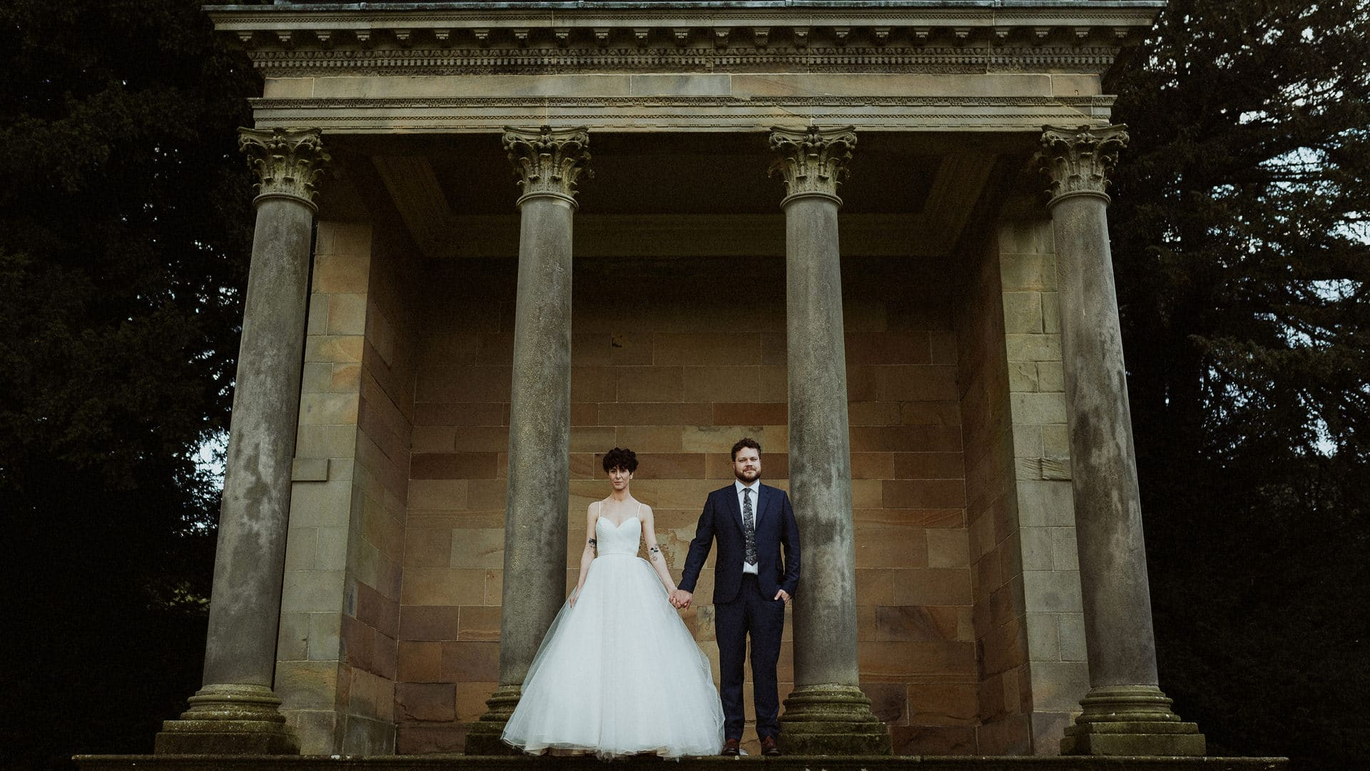 Manchester Wedding Photographer Feminist Wedding Wentworth Castle Gardens 0081